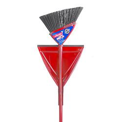 vileda Oskar broom with dustpan