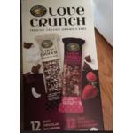 Love Crunch Organic Granola Bars Mixed Box: Dark Chocolate Macaroon & Dark Chocolate & Red Berries