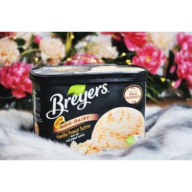 Breyers Non-Dairy Vanilla Peanut Butter