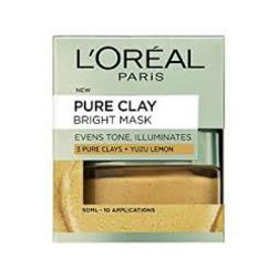 L'Oreal Paris 3 Pure Clays and Yuzu Mask