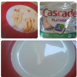 Cascade Platinum ActionPacs™ Dishwasher Detergent, Fresh Scent