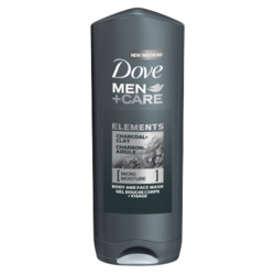 Dove Men+Care Charcoal + Clay Body Wash