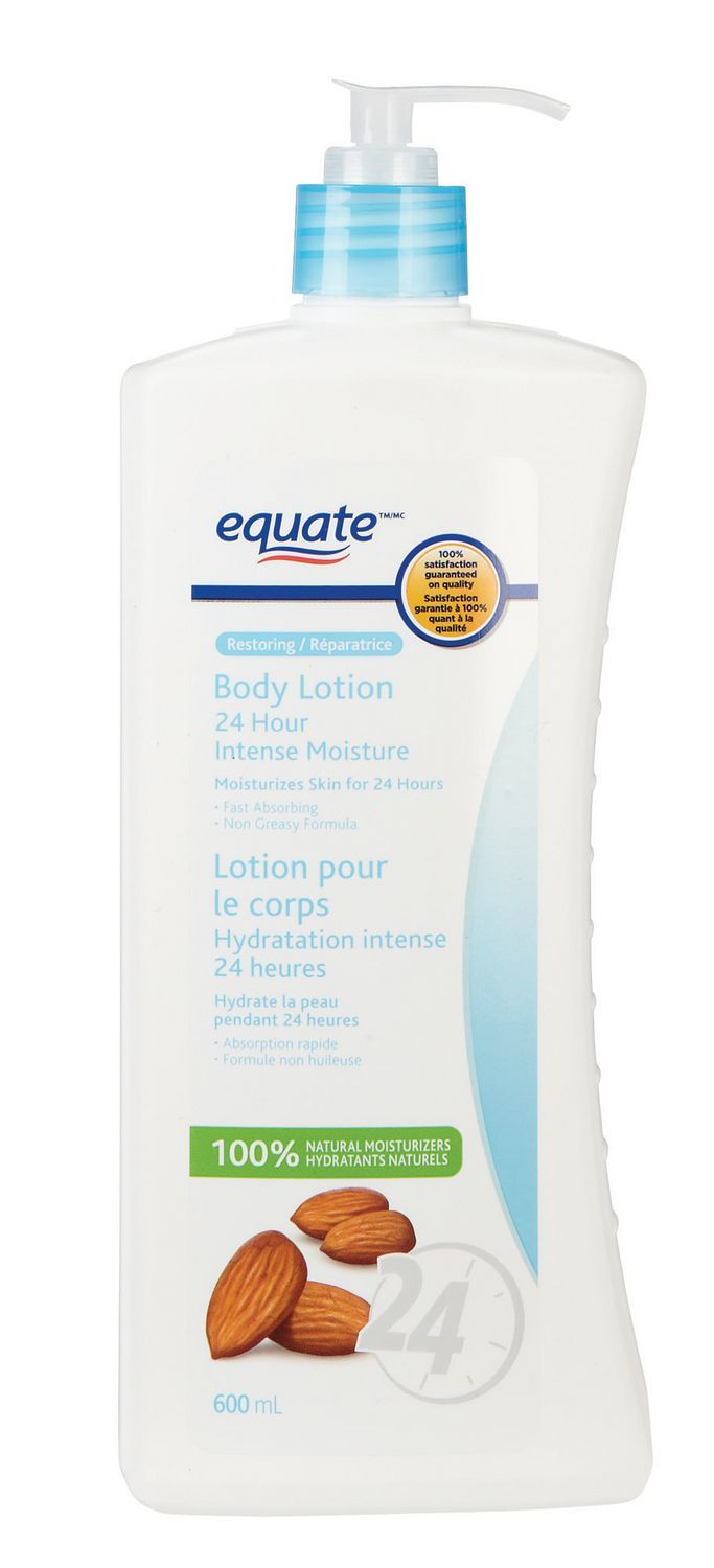 Equate 24 Hour Intense Lotion reviews in Body Lotions