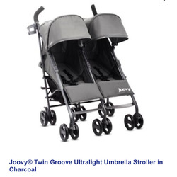 Joovy ultralight twin groove stroller