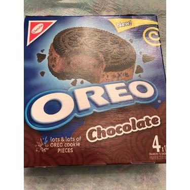 Oreo Chocolate (Ice Cream Sandwich)