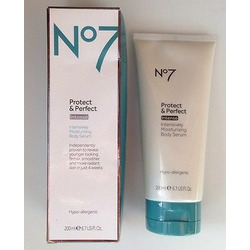 No7 protect and perfect intensively moisturizing body serum