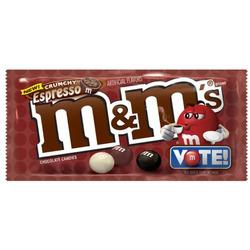 M&M;Crunchy Expresso