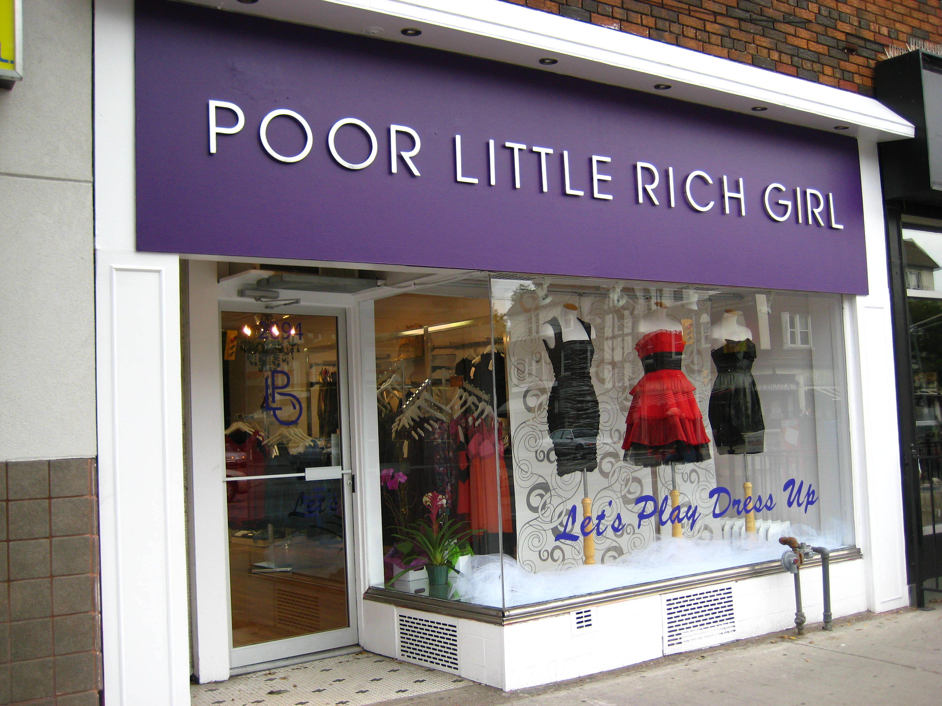 Very pity Rich girl store really