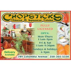 Chopsticks - Castlegar
