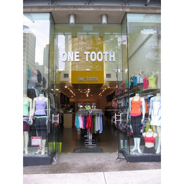 One Tooth Yoga Apparel