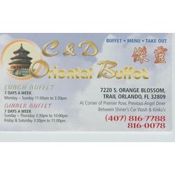 C and D Oriental Buffet