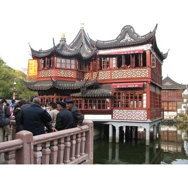 Teahouse YuGarden in Shanghai, China