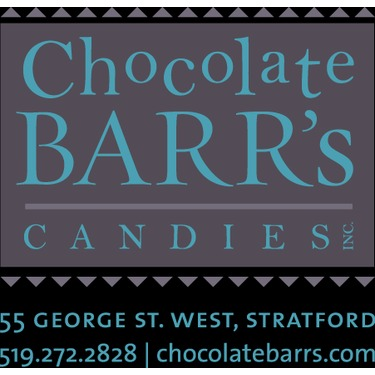 Chocolate Barr's Candies Inc., Stratford, Ontario