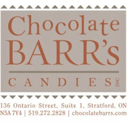 Chocolate Barr's Candies Inc., Stratford, Ontario