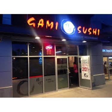 Gami Sushi- Richmond, Bc