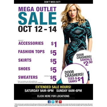 SUZY SHIER OUTLET STORES