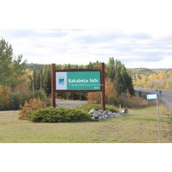 Kakabeka falls tourist attraction Thunder Bay ontario