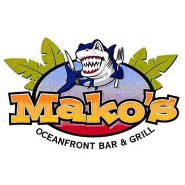 Mako's beach bar Myrtle Beach
