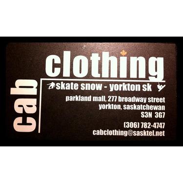 Cab clothing Yorkton