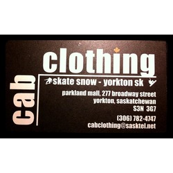 Cab clothing Yorkton