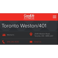 GoodLife Fitness - Weston & 401