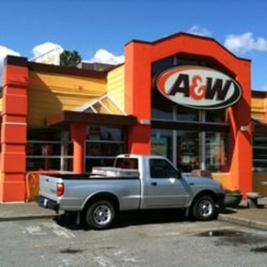 A&W;Buddy Burger with Cheese