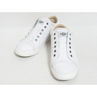 Uggs White leather sneakers women