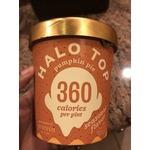 Halo top pumpkin pie ice cream- seasonal flavor