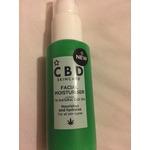 CBD skincare facial moisturiser